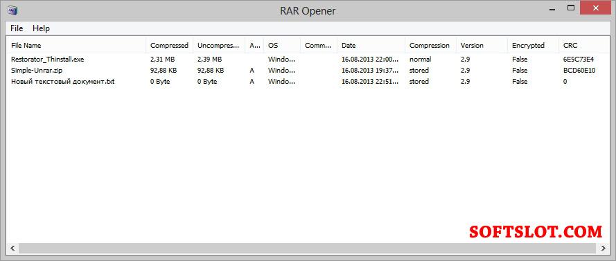 Скачать бесплатно программу для раскрытия файлов rar