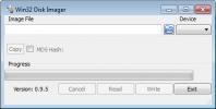 Скриншот №1 к программе Win32 Disk Imager