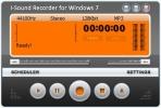 Скриншот №1 к программе i-Sound Recorder for Windows 7