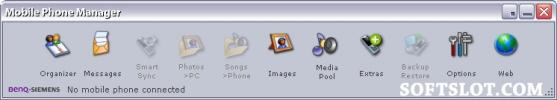Скриншот №1 к программе Siemens Mobile Phone Manager
