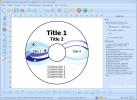 Скриншот №1 к программе RonyaSoft CD DVD Label Maker