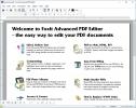 Скриншот №1 к программе Foxit Advanced PDF Editor