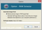 Скриншот №2 к программе RawExtractor