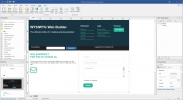 Скриншот №1 к программе WYSIWYG Web Builder