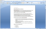 Скриншот №1 к программе Microsoft Word