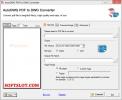 Скриншот №1 к программе PDF to DWG Converter