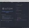 Скриншот №2 к программе Atom