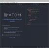 Скриншот №3 к программе Atom