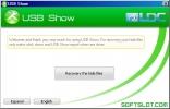 Скриншот №1 к программе USB Show