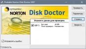 Скриншот №1 к программе Norton Disk Doctor