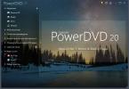 Скриншот №2 к программе Cyberlink PowerDVD Ultra