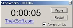 Скриншот №1 к программе Stop Watch