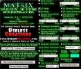 Скриншот №2 к программе Matrix Trilogy 3D Code Screensaver