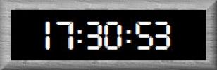 Скриншот №1 к программе Mini Clock Alarm