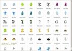 Скриншот №1 к программе Free Large Android Icons