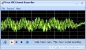 Скриншот №1 к программе Free MP3 Sound Recorder