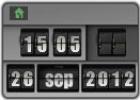 Скриншот №1 к программе Flip Clock