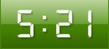 Скриншот №1 к программе Digital Clock GT-7